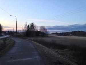 Valkjärventie_eteläpää